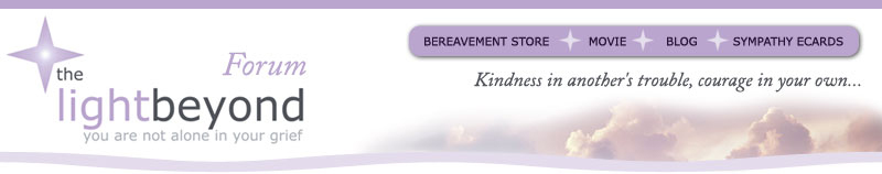 The Light Beyond Bereavement Forums